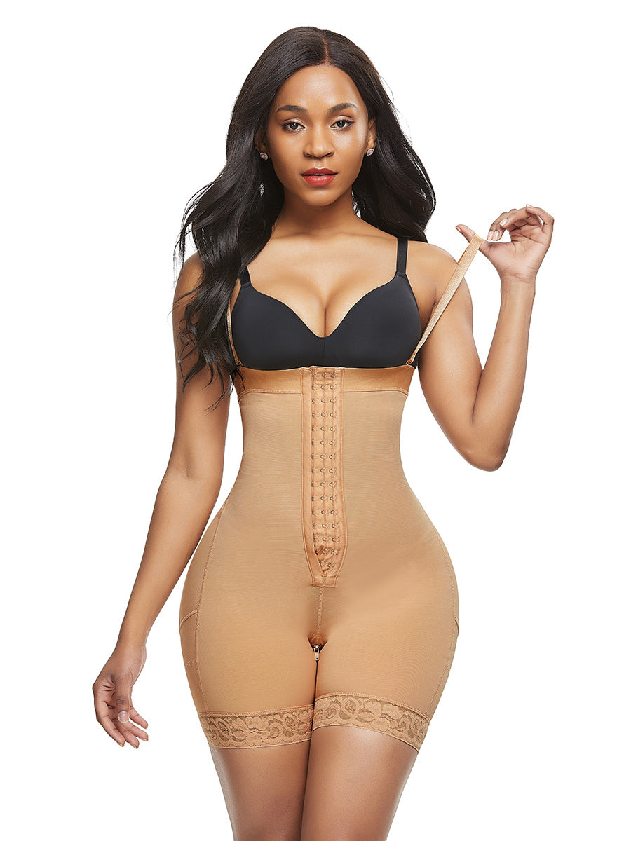 FeelinGirl Slimming Bodysuit Full Body Girdle Tummy Control Underwear - FeelinGirl