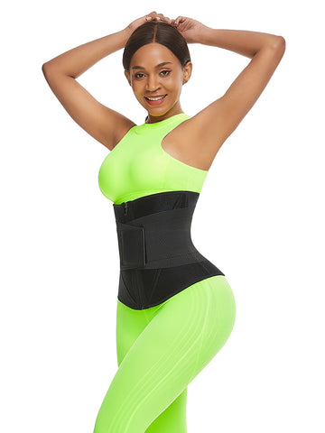 FeelinGirl Zip Up Neoprene Gym Waist Trainer For Weight Loss