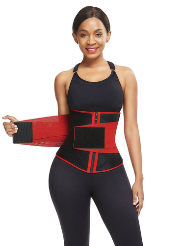 FeelinGirl Zip Up Neoprene Gym Waist Trainer For Weight Loss - FeelinGirl