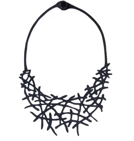 Alga Eco Friendly Rubber Necklace