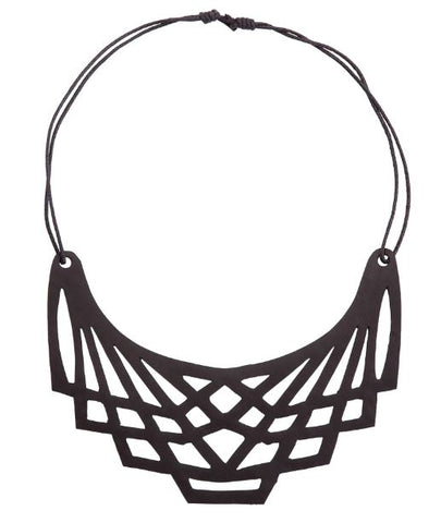 Origami Vegan Inner Tube Necklace
