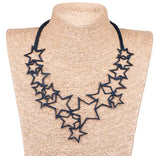 Star Upcycle Rubber Necklace