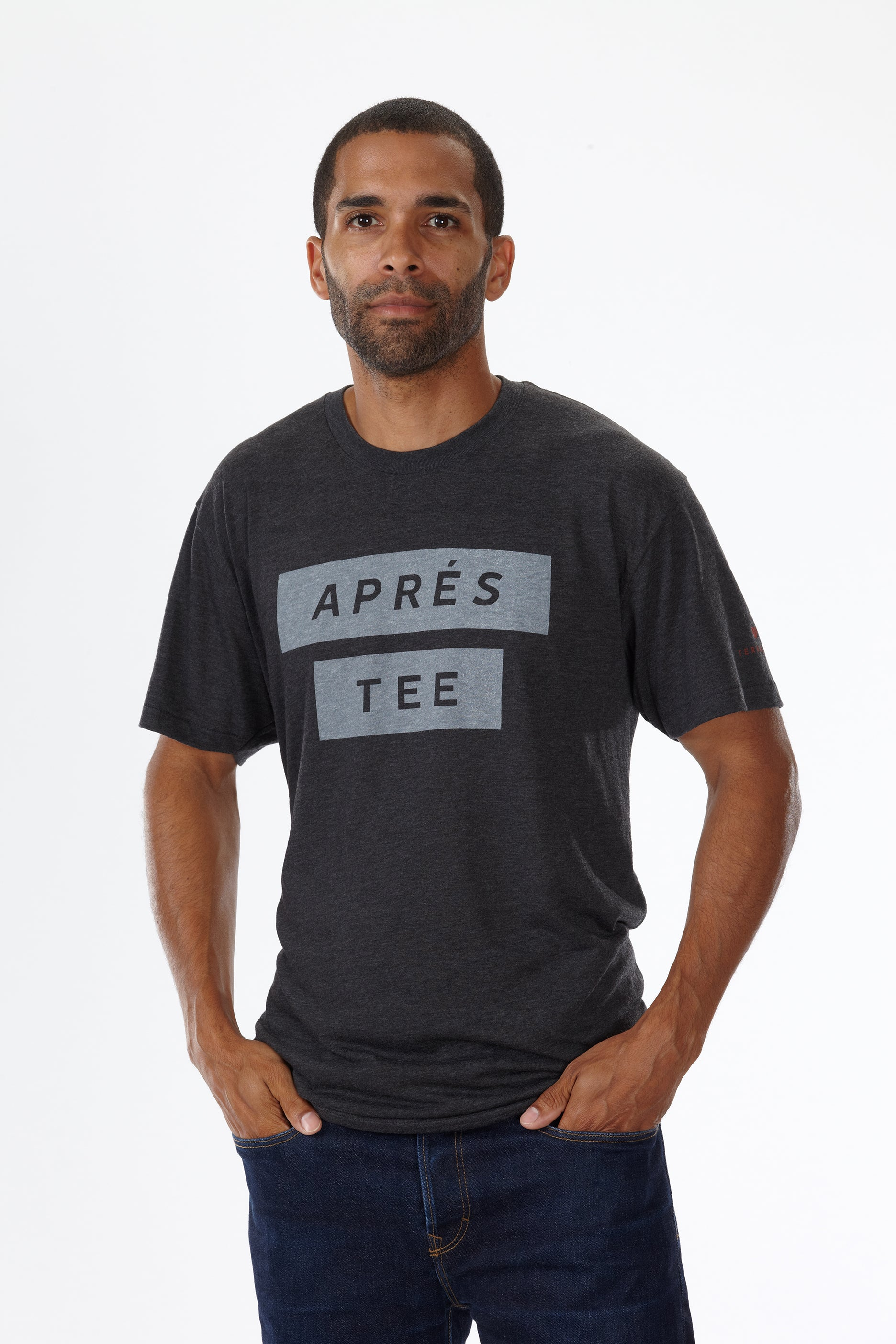 APRES (MEN'S) T-SHIRT by Terracea - Waterproof, Windproof, Weatherproof Technical Outerwear