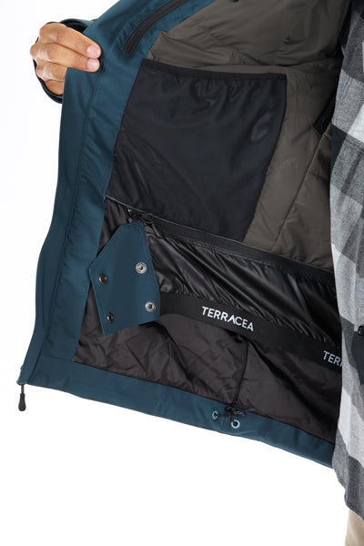 BEACON (MEN'S) INSULATED JACKET by Terracea - Waterproof, Windproof, Weatherproof Technical Outerwear