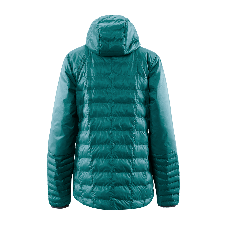 LOTUS (WOMEN'S) LIGHTWEIGHT QUILTED PUFFER by Terracea - Waterproof, Windproof, Weatherproof Technical Outerwear