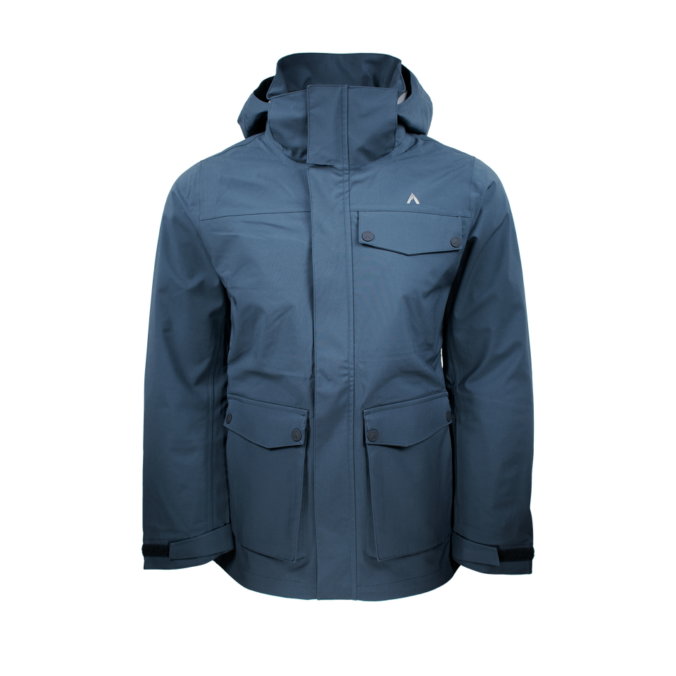 PEAK LT (MEN'S) SKI SHELL by Terracea - Waterproof, Windproof, Weatherproof Technical Outerwear
