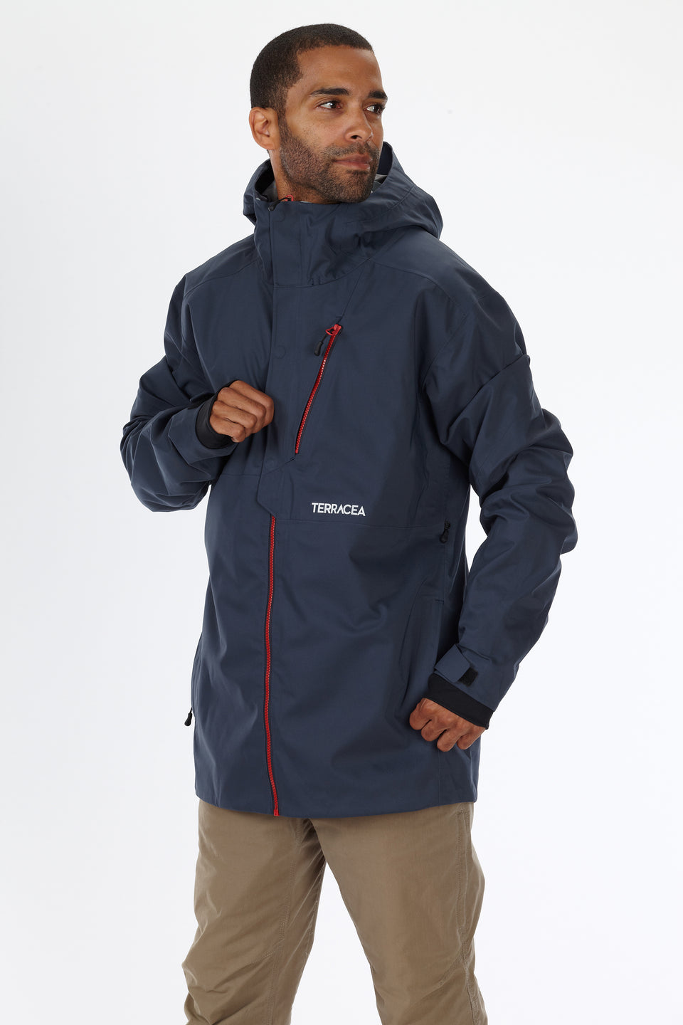 SORREL (MEN'S) 3L SHELL JACKET by Terracea - Waterproof, Windproof, Weatherproof Technical Outerwear