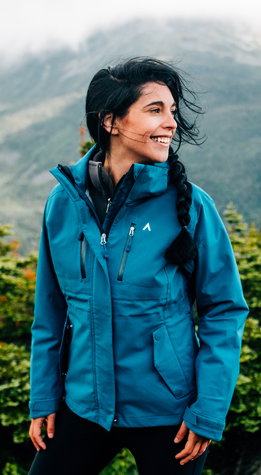 STATION LT (WOMEN'S) SKI SHELL by Terracea - Waterproof, Windproof, Weatherproof Technical Outerwear