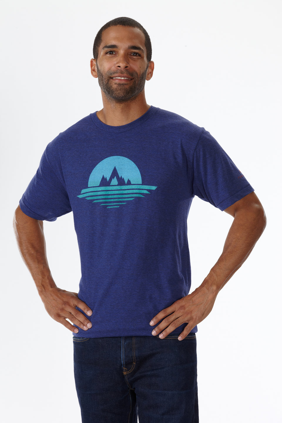 VISTA (MEN'S) T-SHIRT by Terracea - Waterproof, Windproof, Weatherproof Technical Outerwear