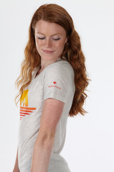 VISTA (WOMEN'S) T-SHIRT by Terracea - Waterproof, Windproof, Weatherproof Technical Outerwear