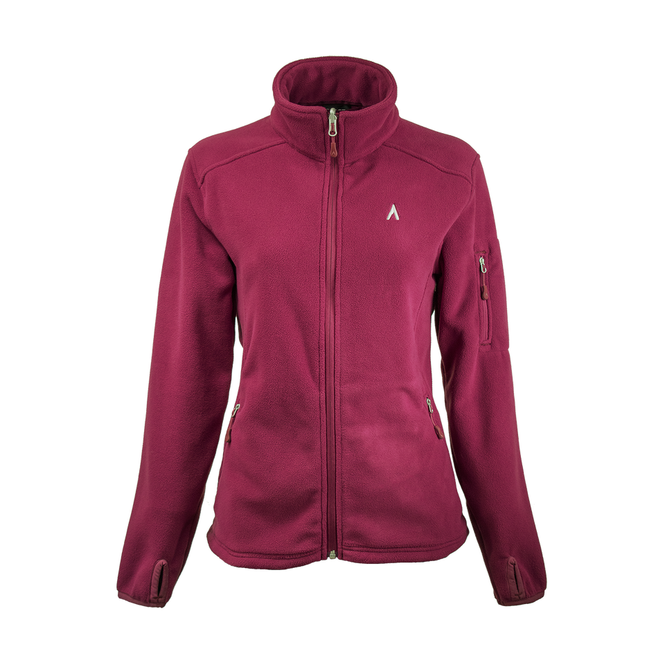 CROSSING (WOMEN'S) WIND-RESISTANT FLEECE by Terracea - Waterproof, Windproof, Weatherproof Technical Outerwear