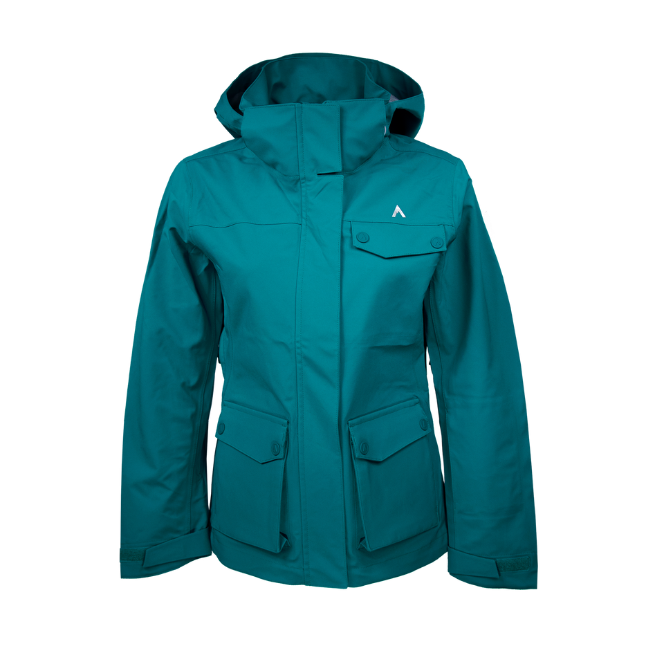 PEAK LT (WOMEN'S) SKI SHELL by Terracea - Waterproof, Windproof, Weatherproof Technical Outerwear