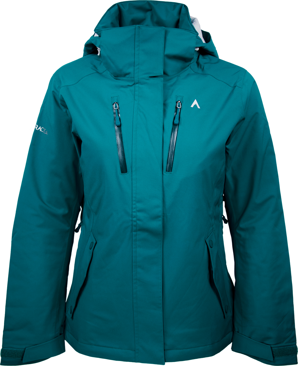 PEAK CW (WOMEN'S) INSULATED JACKET by Terracea - Waterproof, Windproof, Weatherproof Technical Outerwear