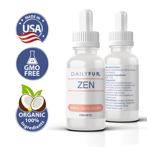 Daily Fur ZEN Pet Hemp Oil