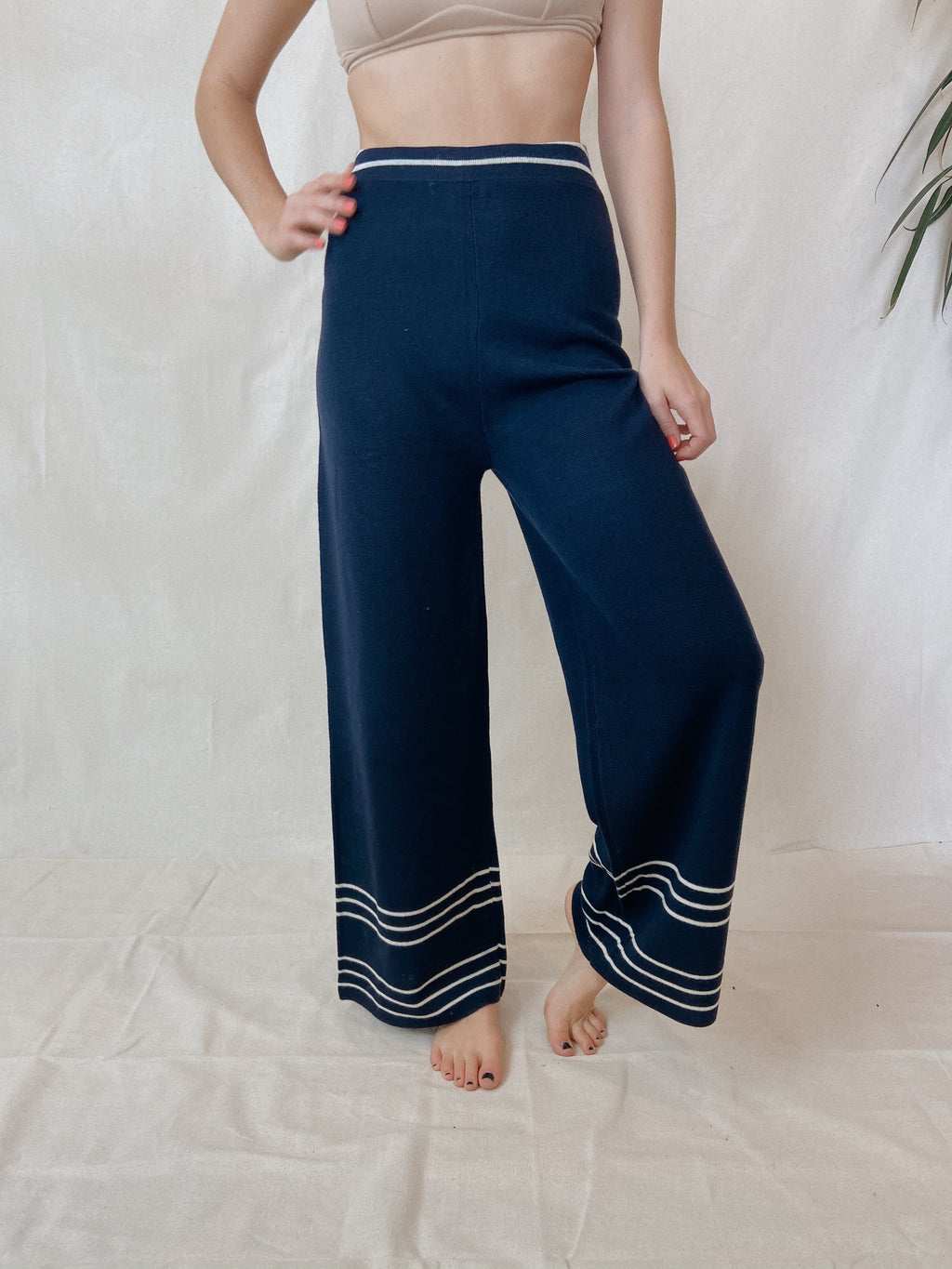 The Kima Pants Navy
