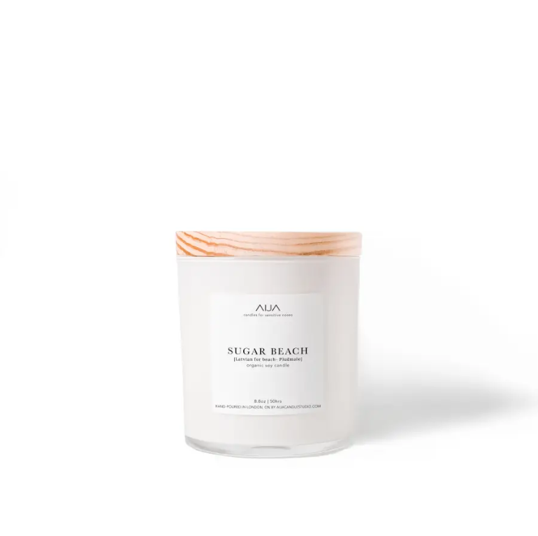 Sugar Beach Organic Soy Candle