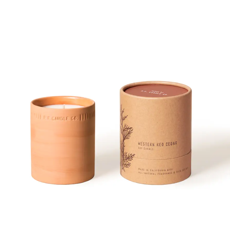 Western Red Cedar All Natural Soy Candle