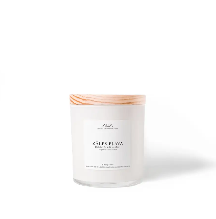 Zales Plava Organic Soy Candle