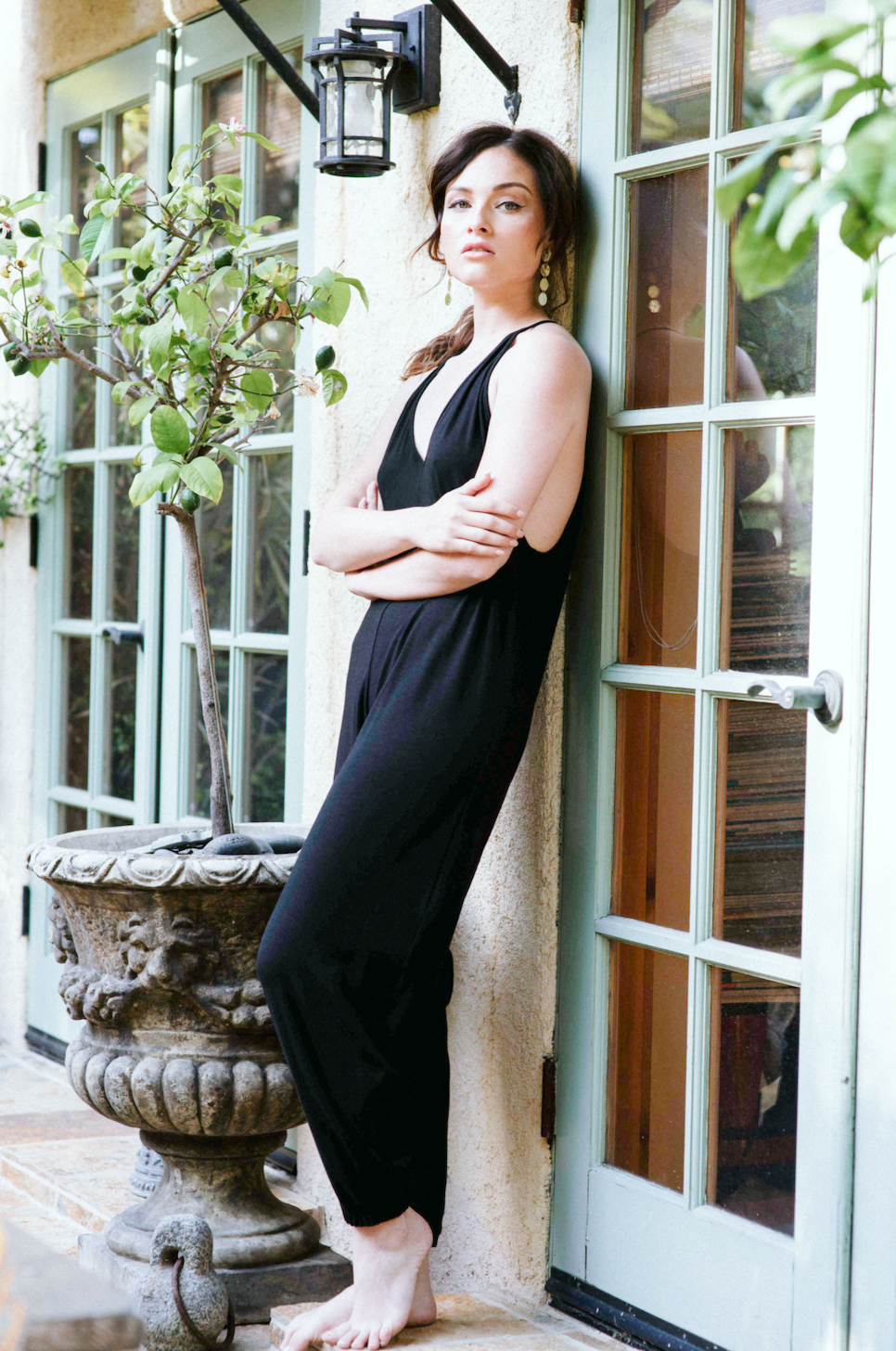 The Bianca Jumpsuit Black