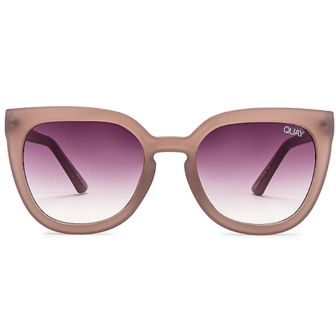 Noosa Sunglasses Taupe/Purple