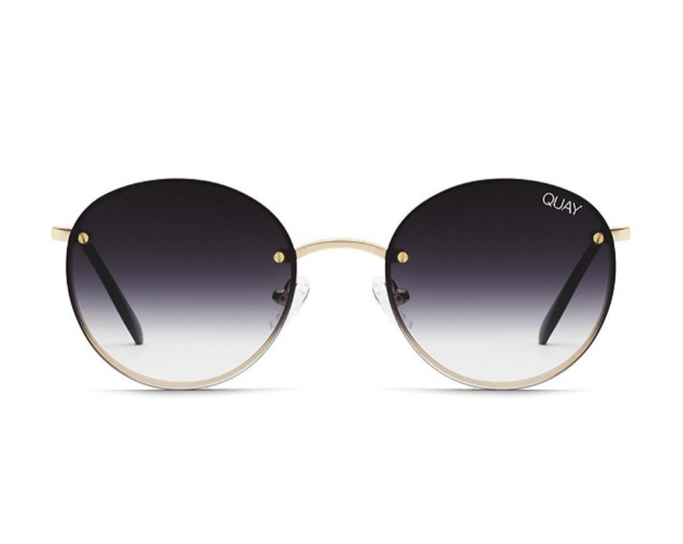Farrah Sunglasses Gold Fade