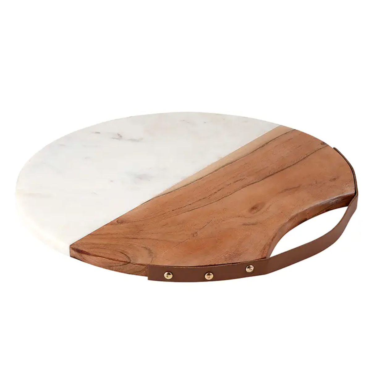 Acacia Wood and Marble Board