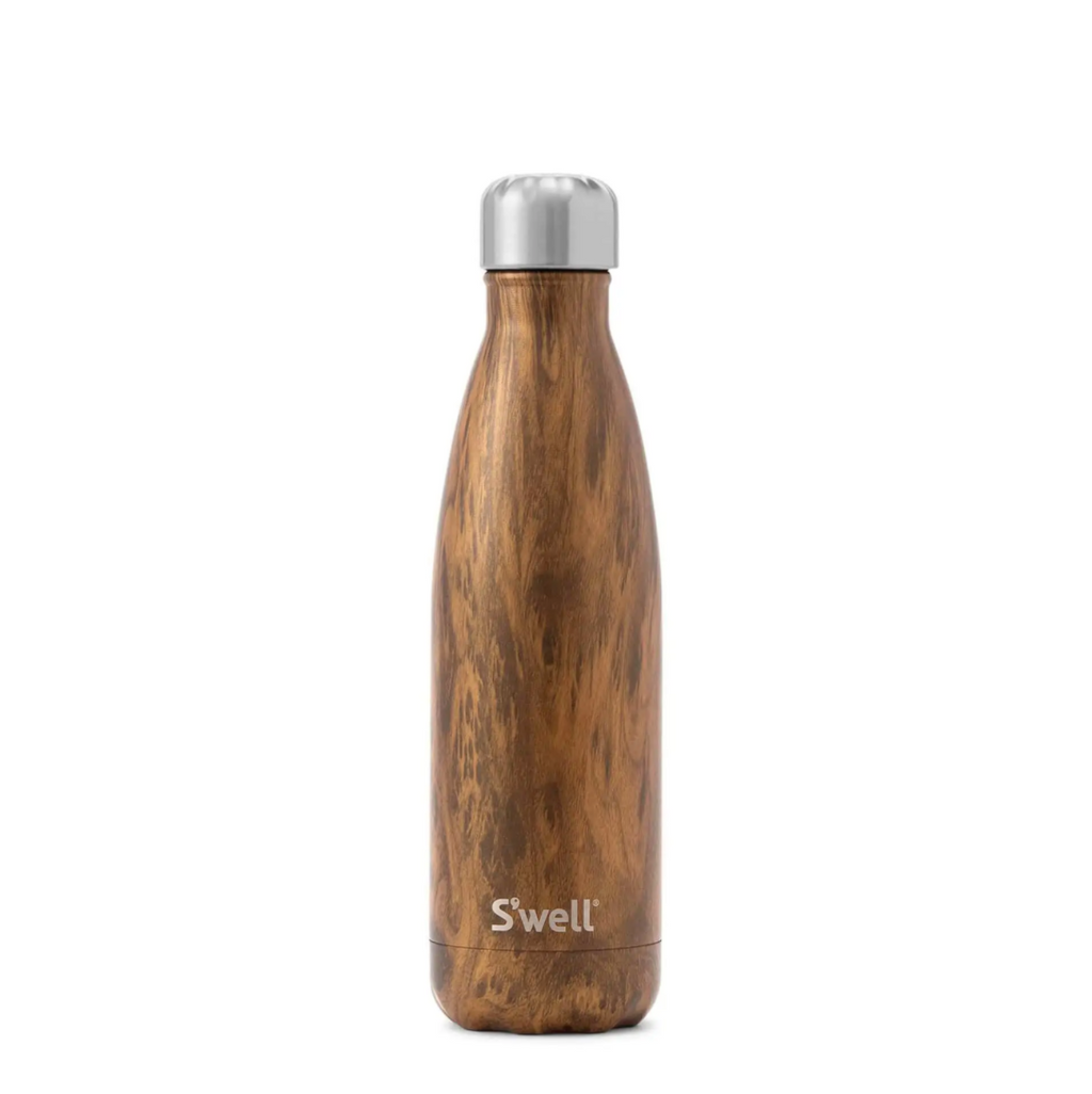 Stainless Steel Water Bottle Teakwood