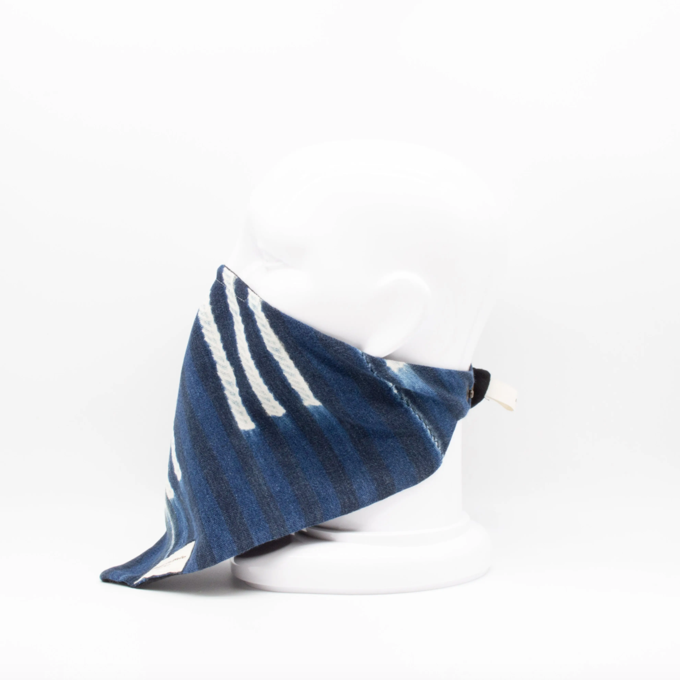 Maskdanna Indigo Stripe Artisan Cloth Face Mask