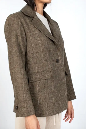 The Tomlin Blazer Brown