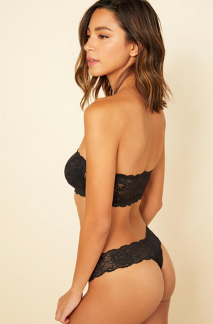 Never Say Never Cutie Bow Low-Rise Thong
