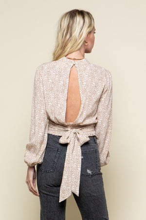 Shelly Backless Top
