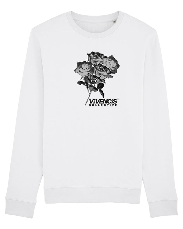 Black Eternal Sweatshirt - White