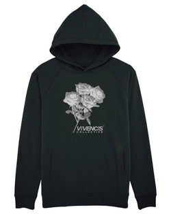 Grey Eternal Hoodie - Black