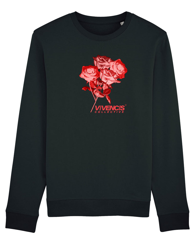 Red Eternal Sweatshirt - Black