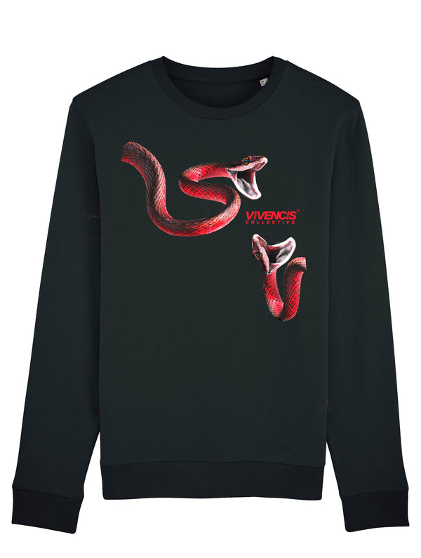 Red Venom Sweatshirt - Black