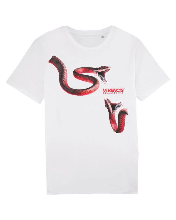 Red Venom T-Shirt - White