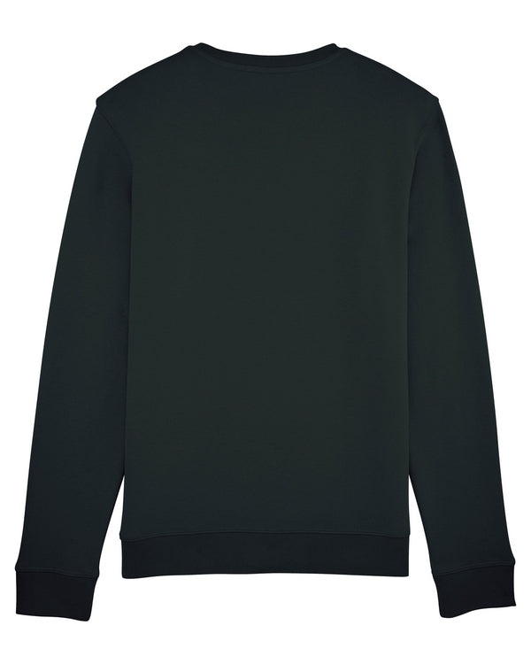 Grey Patterns Sweatshirt - Black