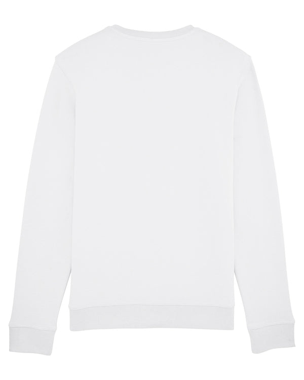 Grey Patterns Sweatshirt - White