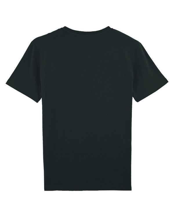Grey Patterns T-Shirt - Black