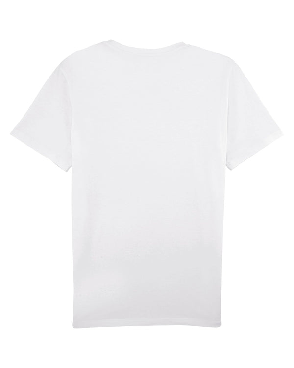 Grey Patterns T-Shirt - White