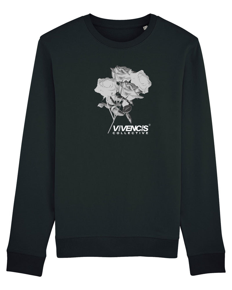 White Eternal Sweatshirt - Black