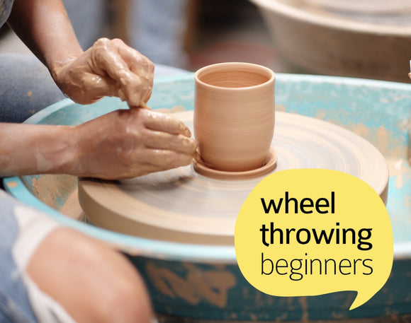 Clay Club! 4 week introduction to wheel throwing! Starting Saturday 2 November, 11:00am-1:00pm