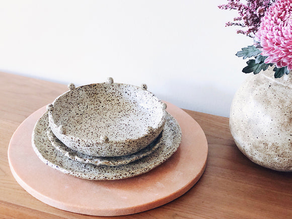 Clay Club Intensive: Create your own holiday dinner set, with Alichia van Rhijn of Hearth Collective, Sunday December 15th, 9:30am-12:30pm