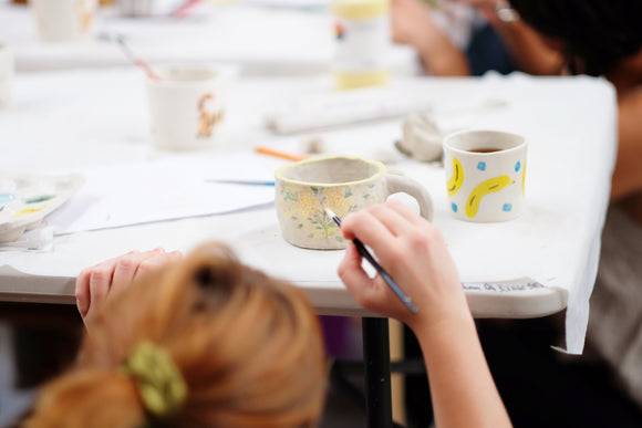 Clay Club: Saturday October 5 workshop: Mugnificent ceramic mug workshop. 1:30pm - 3:30pm