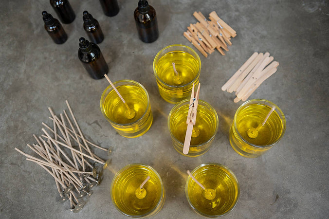 Tools of the trade for the modern candlemaker
