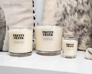 What makes Pretty Frank candles different?
