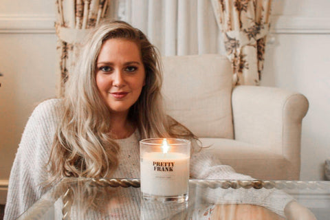 Professional Candle Maker, Leonie O'Brien from Pretty Frank | Meet the Maker
