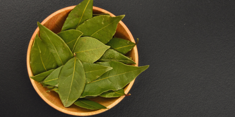 Bay leaf can be used to help repel insects
