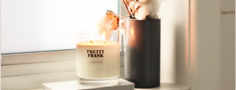 Win a year of Pretty Frank candles!