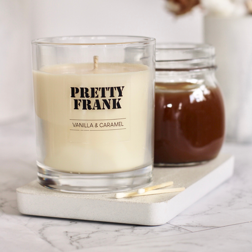 Vanilla & Caramel Scented Candle [Limited Edition]